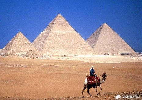 Piramides de Gizé no Egito