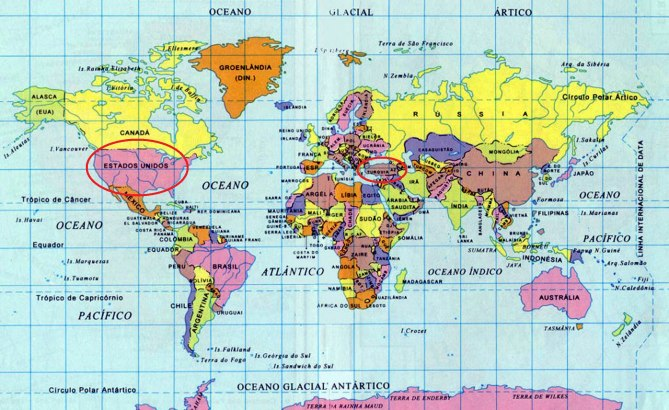 2 Mapa-mundi