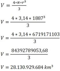 Cálculo volume da N. Jerusalém com a muralha
