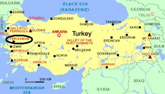 Pérgamo - Turquia