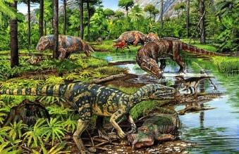 Dinossauro - Período Triássico