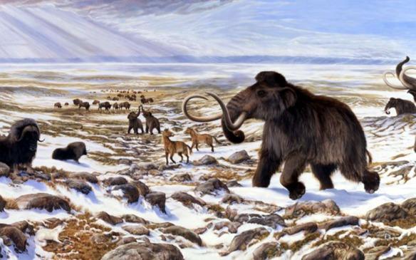 Era glacial e os Mamutes - Pré-historia