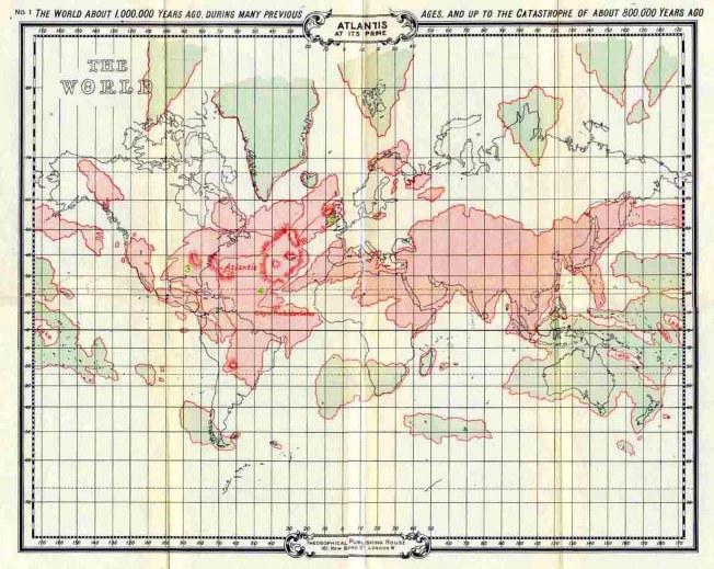 Mapa Atlântida 1 (800 mil anos)