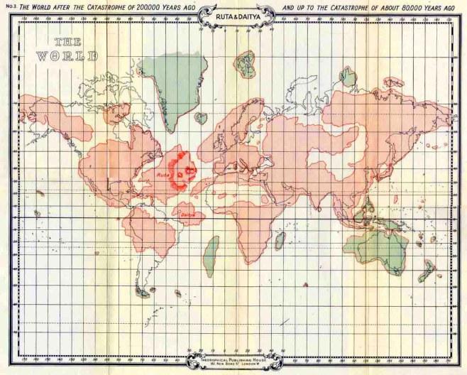 Mapa Atlântida 3 (80 mil anos)