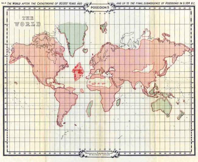 Mapa Atlântida 4 (12 mil anos)