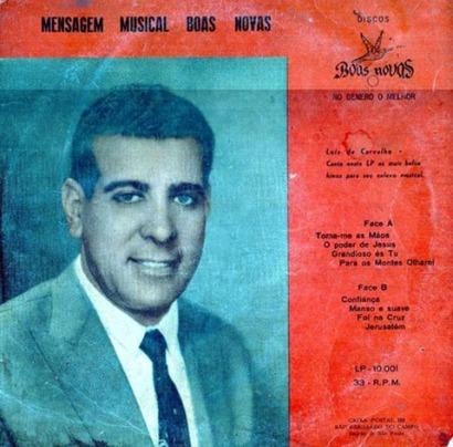 Luiz de Carvalho - Musical Boas Novas 1958