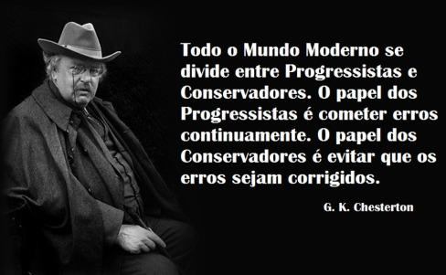 Progressista e Conservador - G. K. Chesterton