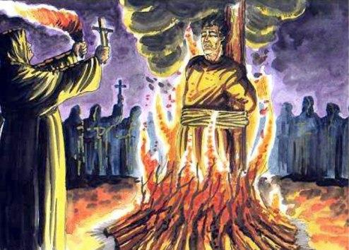 Fogueira da Santa Inquisição Católica