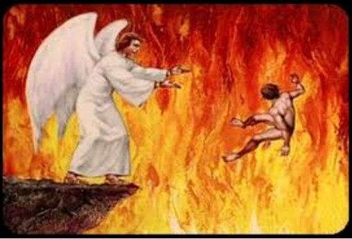Pecadores lançados no lago de fogo