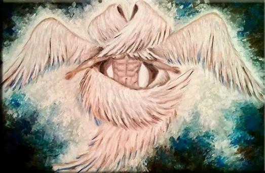 Anjos com seis asas - Serafins
