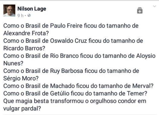 O que estão fazendo com o Brasil
