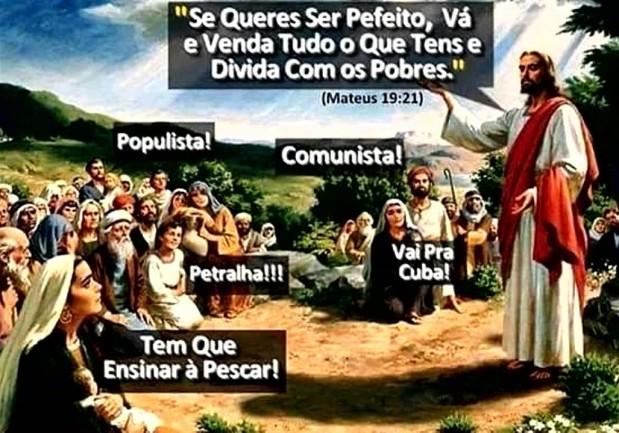 Jesus o maior esquerdista da história