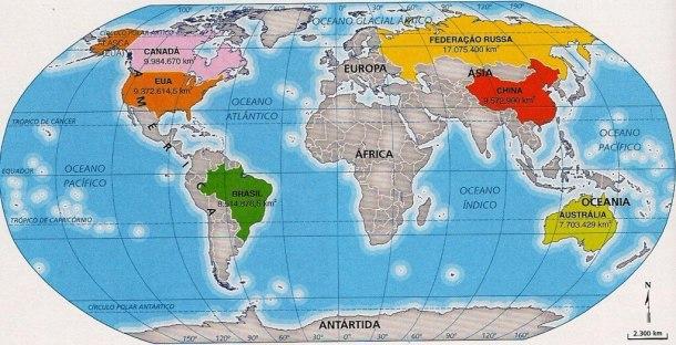 Planisfério - Terra Plana