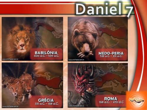 Os quatro animais simbólicos de Daniel 7