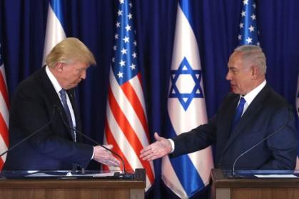 Trump e Netanyahu - Jerusalém 2017