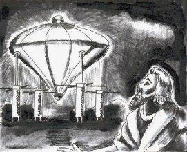 A nave com quatro rodas de Ezequiel