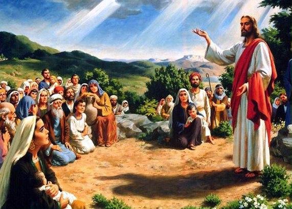 Jesus Cristo anunciando o Reino