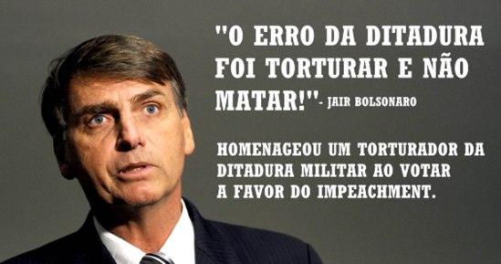 04 O erro da ditadura foi torturar e não matar - Jair Bolsonaro