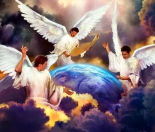 Anjos e a Terra