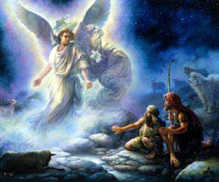 Anjos e humanos